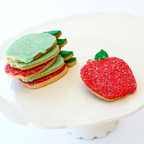 back-to-school apple cookies