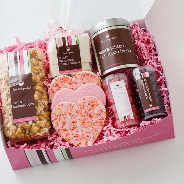 a sweet valentine's gift box