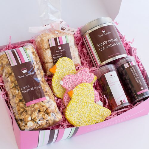 an Easter gift box
