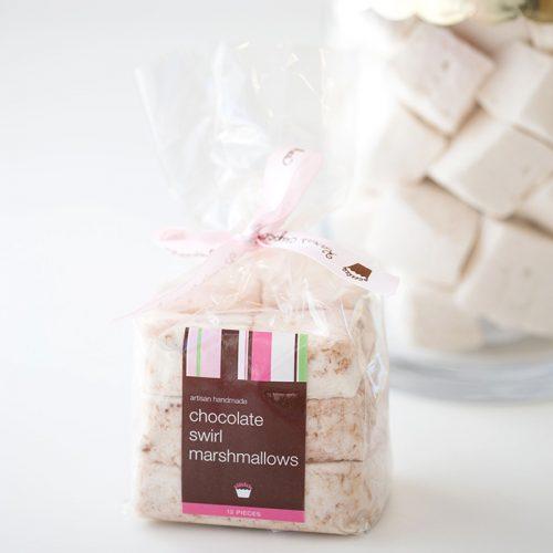 chocolate swirl marshmallows