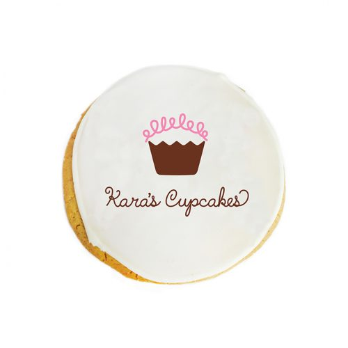 custom logo cookie
